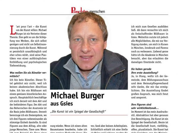 "Interview ""Puschtra"" Nr. 22 vom 06.12.17"