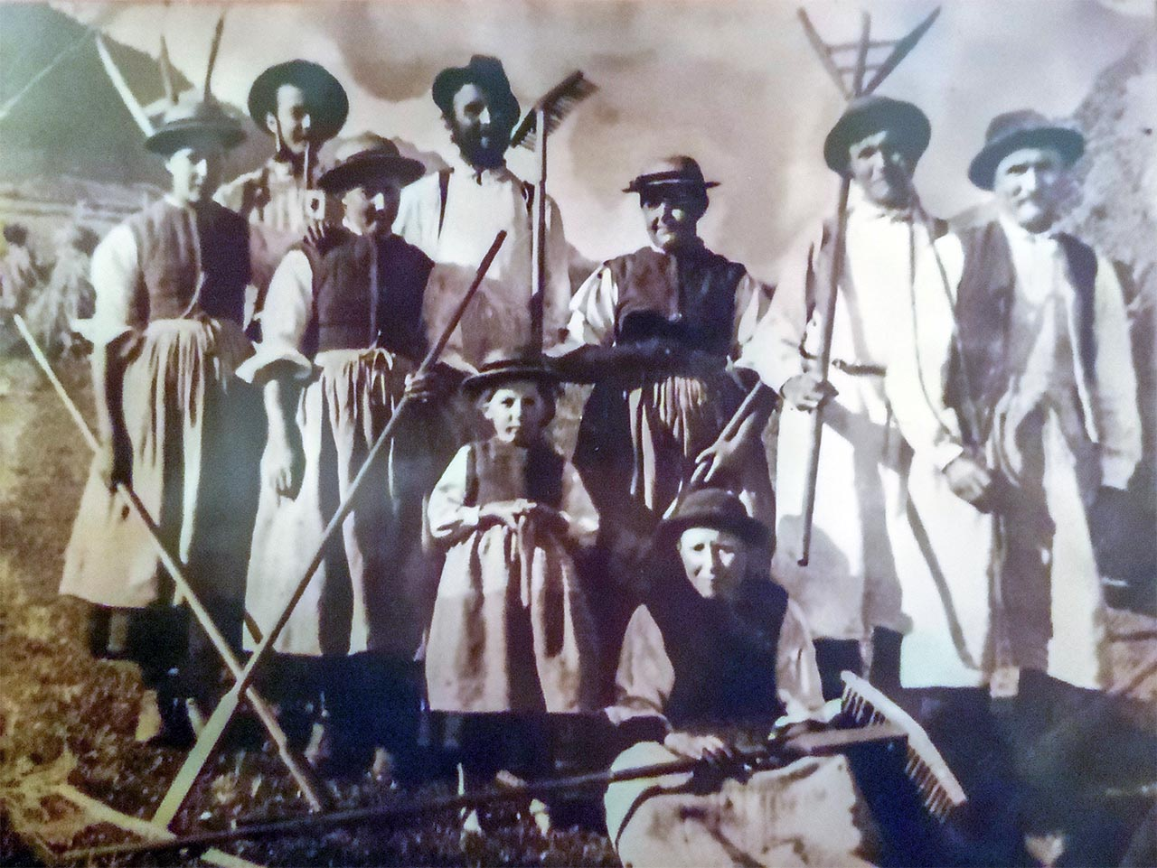 Famiglia contadina Voderstammer